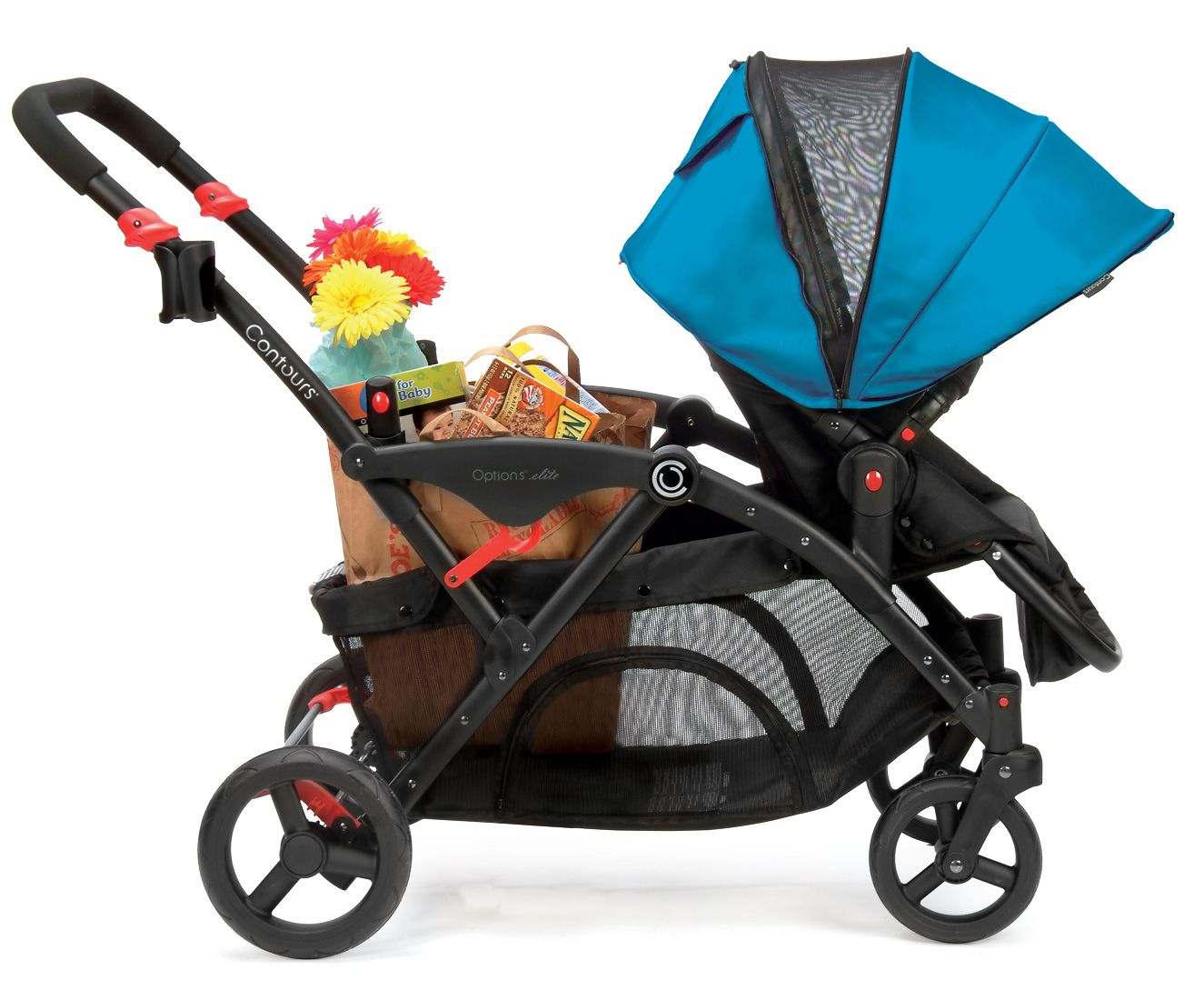 Tandem Stroller Tandem stroller, Contours options elite