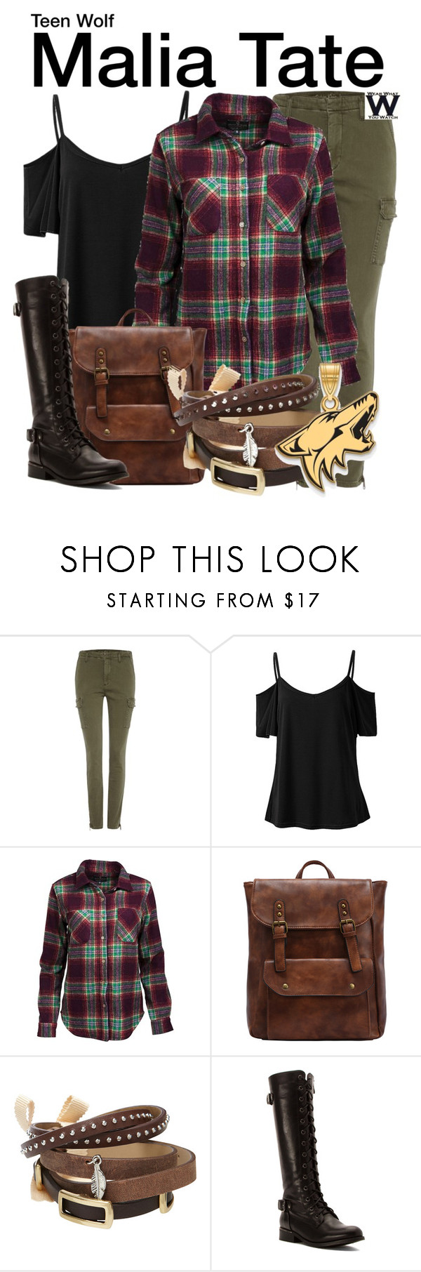 """""""Teen Wolf"""" by wearwhatyouwatch ❤ liked on Polyvore featuring Calvin Klein, United by Blue, TOKYObay, Wanted, LogoArt, television and wearwhatyouwatch"""