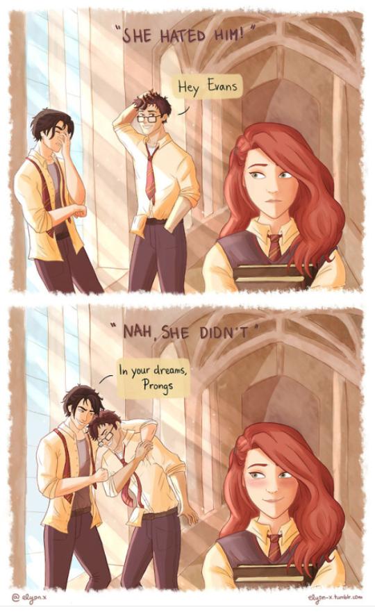 Http Elyon X Tumblr Com Harry Potter Comics Harry Potter Drawings Harry Potter Universal