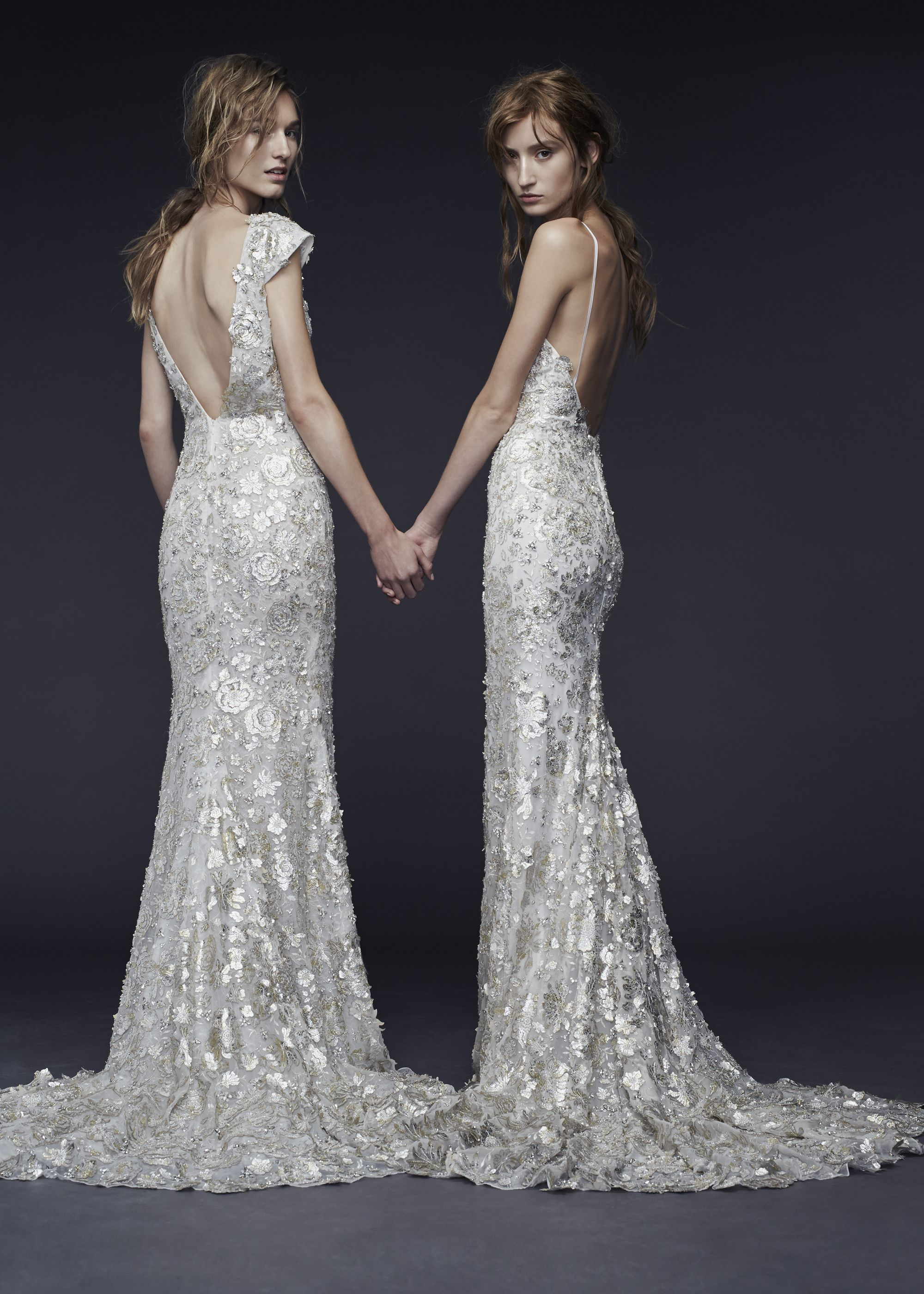 The 12 Best Wedding Dresses From The Fall 2015 Bridal Collections Vera Wang Wedding Dress 2015 Non White Wedding Dresses Wedding Dresses Vera Wang