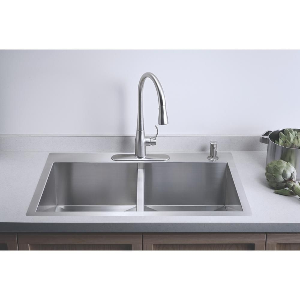 Kohler Vault Farmhouse Apron Front Stainless Steel 36 In 4 Hole