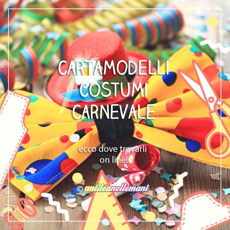 Cartamodelli per Costumi di Carnevale: dove trovarli On ...