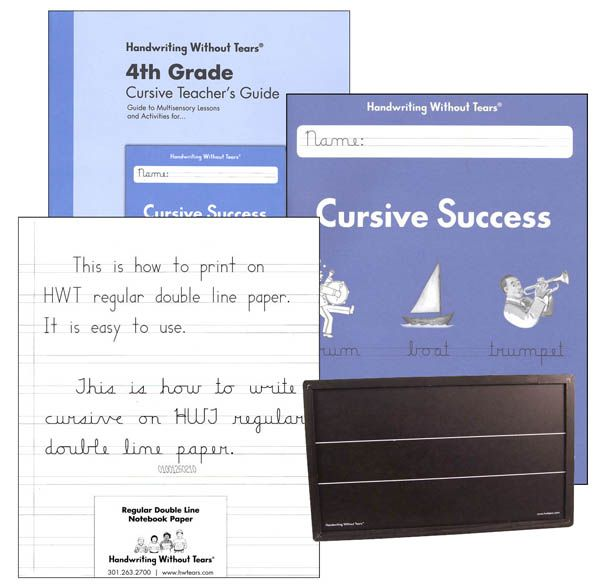 Handwriting Without Tears Grade 4 Kit Main photo (Cover - double lined paper
