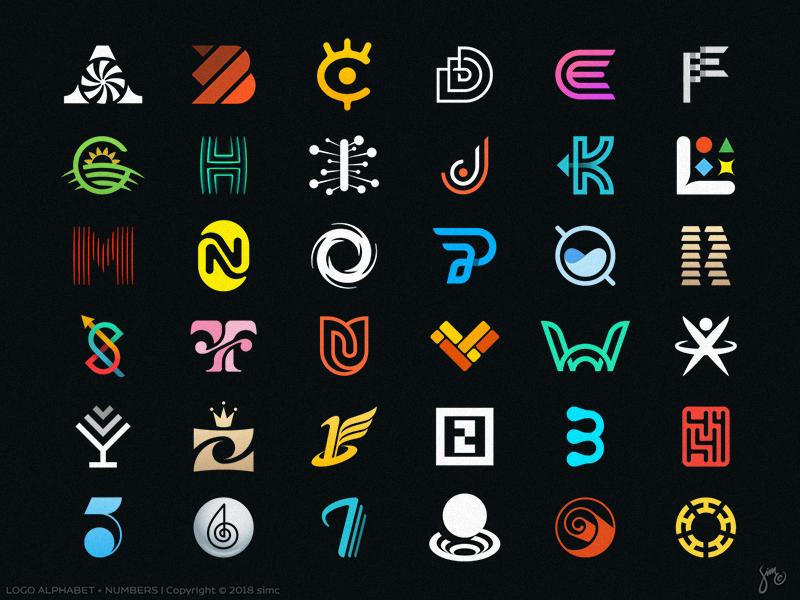 LOGO Alphabet Logos design, Learning logo, Logos