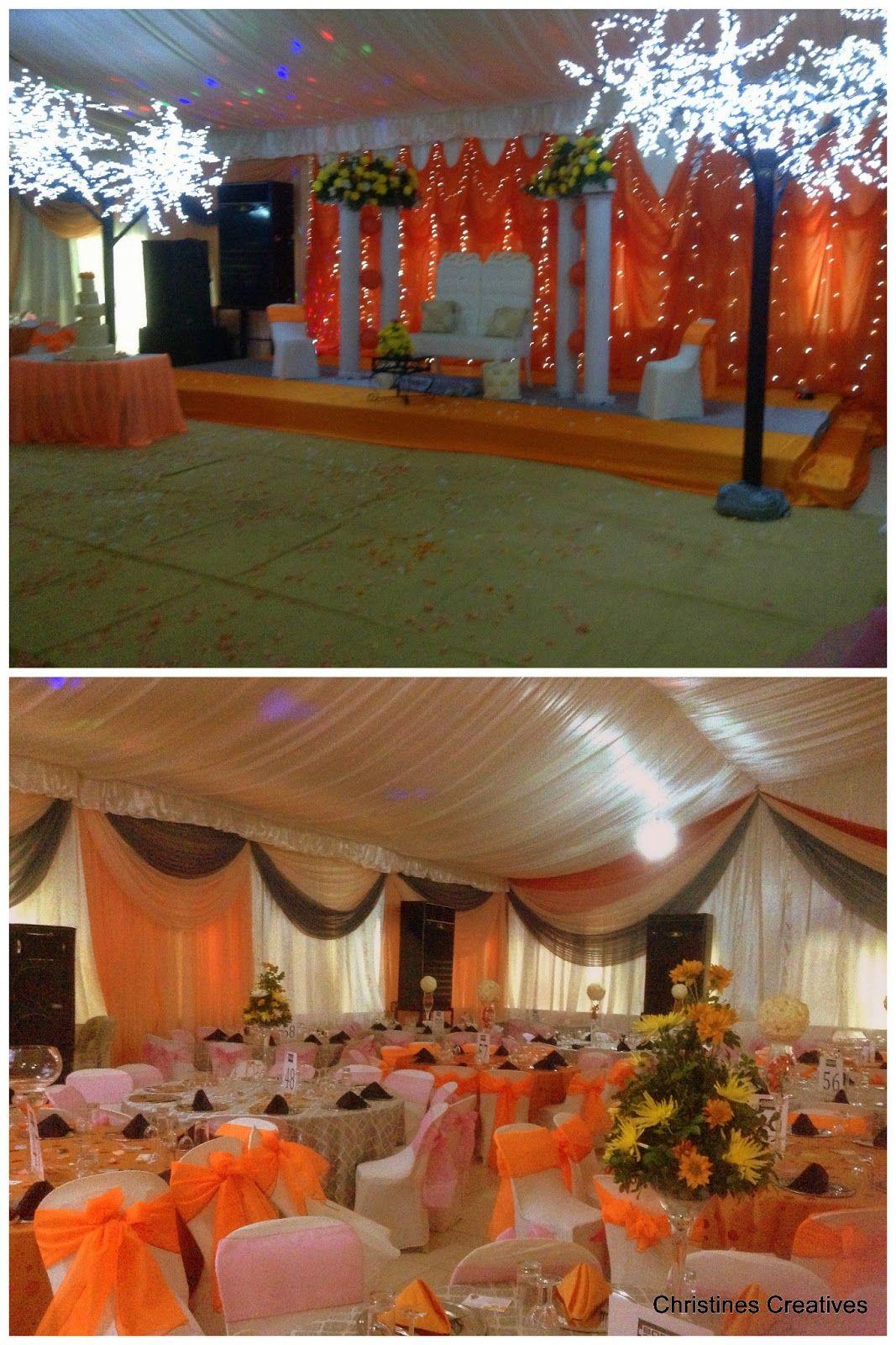 Nigerian Wedding Event Decor By Christines Creatives Nigeria Limited