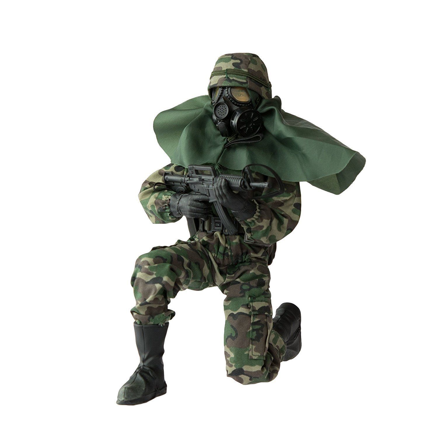 Army Men by World Peacekeepers Action Figures 30 Pt Full Motion