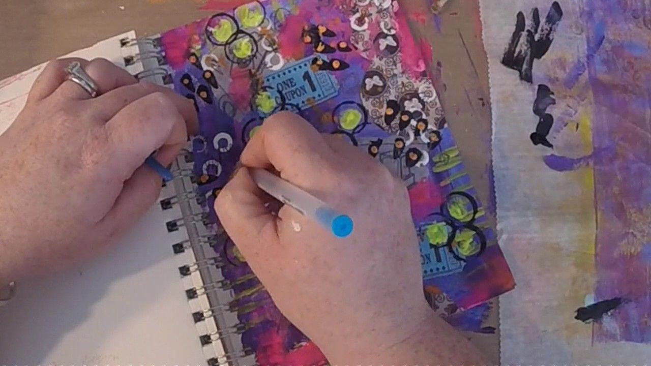 #ArtMarks30DayChallenge Day 2: Needlework