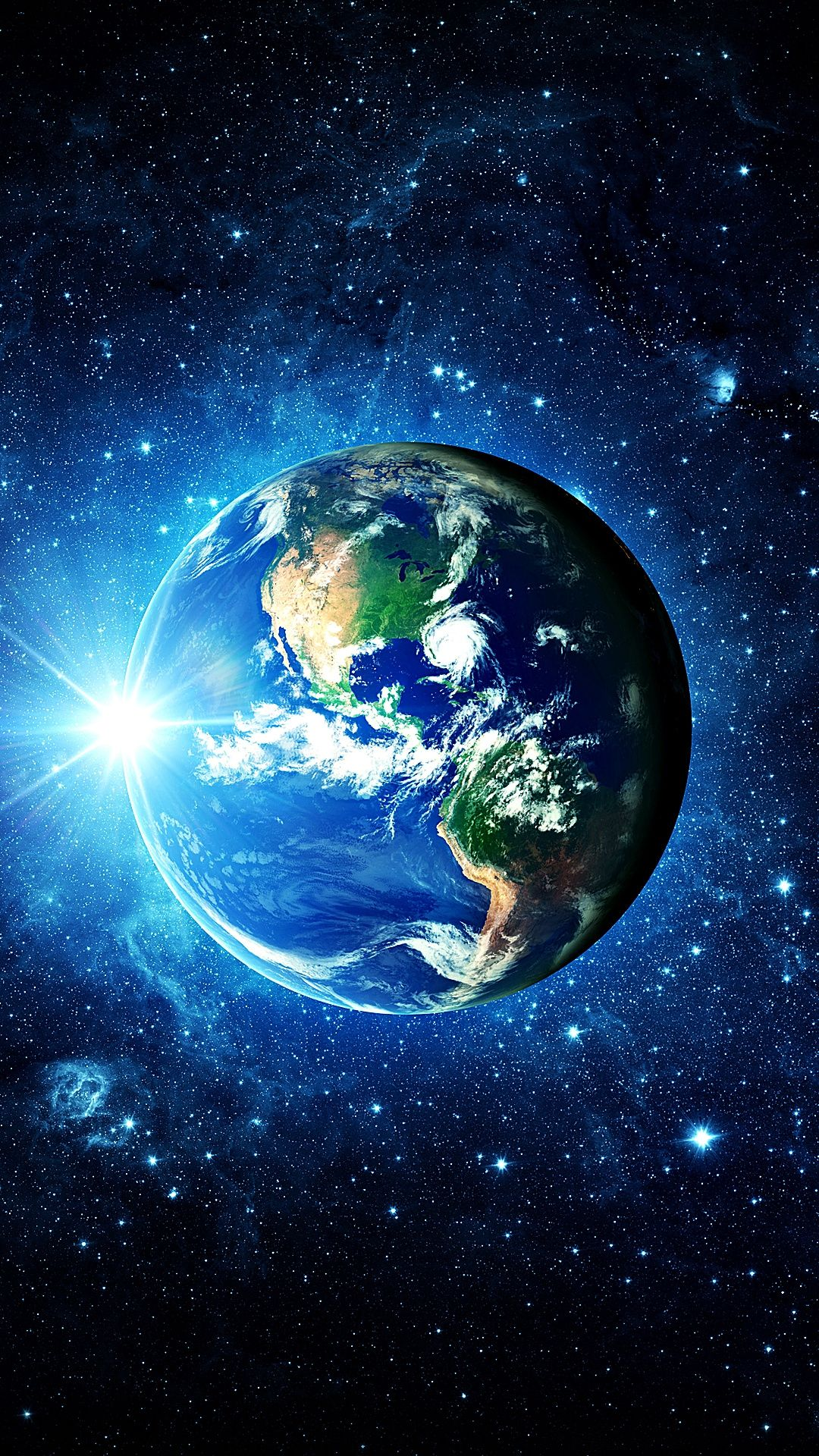 3d Earth Mobile Hd Wallpaper In 2020 Wallpaper Earth Wallpaper Space Galaxy Painting