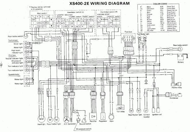16+ Yamaha Motorcycle Electrical Wiring Diagramyamaha