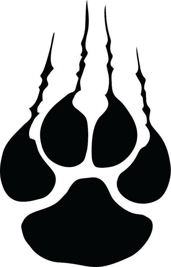 panther wildcat tiger claw with tare marks instant digital download rh pinterest com Auburn Tigers Logo Black and White Auburn War Eagles or Tigers