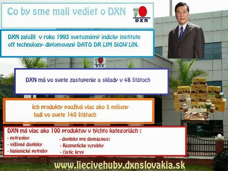 http://dxnzdravakava.blogspot.sk/2015/03/preco-zacat-spolupracu-s-dxn-sietou.html Blog J.G. Prečo začať spoluprácu s DXN sieťou!