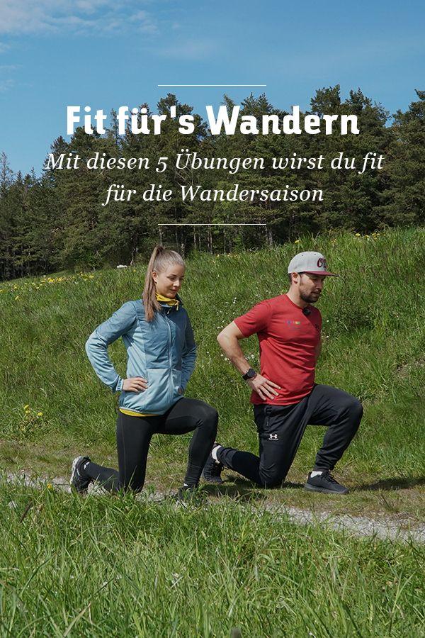 Photo of Fit für's Wandern: 5 Übungen zur Vorbereitung auf die Wander…