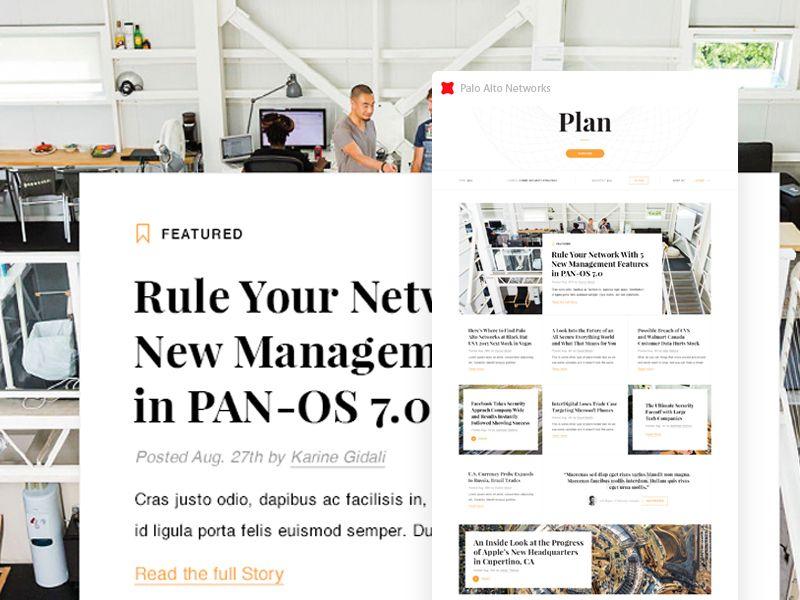Palo Alto Plan Web Design How To Plan Palo Alto Networks