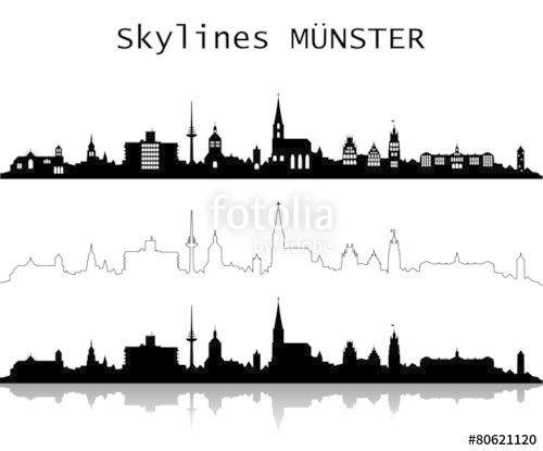 Skyline Munster Stockfotos Und Lizenzfreie Vektoren Auf Fotolia Com Bild 80603134 Skyline Munster Bilder