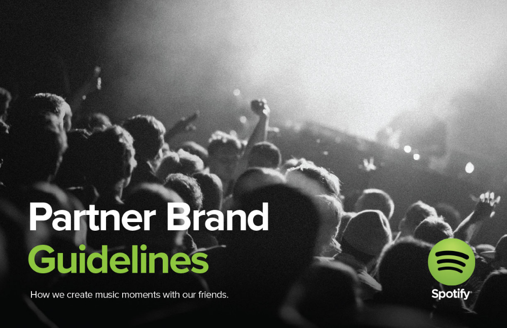 Spotify Branding Style Guides Brand guidelines, Brand