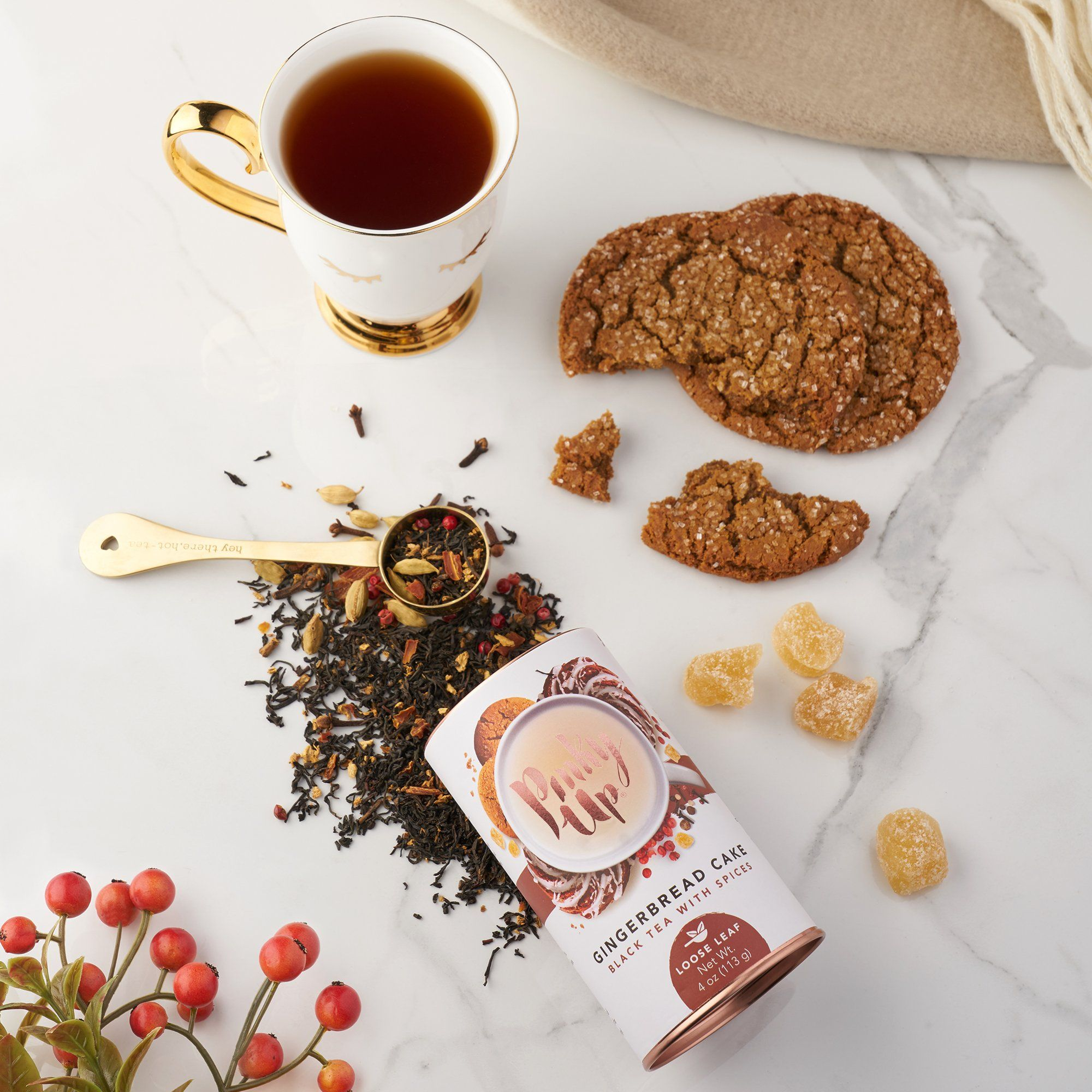 Photo of Gingerbread Cake Loose Leaf Tea