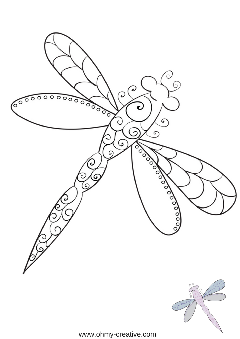 5 Free Printable Spring Coloring Pages Oh My Creative Spring Coloring Pages Bug Coloring Pages Coloring Pages [ 1123 x 794 Pixel ]