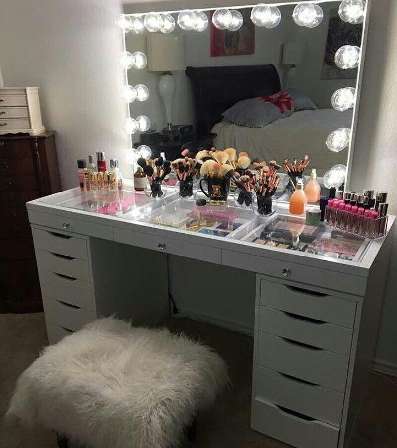 corner makeup vanity with mirror. SlayStation Table Top And Impressions Vanity GlowXLPro Pinterest  Claudiagabg V A N I T Y Vanities Room