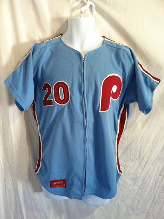 Vintage PHILLIES Jersey 70s 80s  Mike Schmidt No. 20 Rawlings Pro ... f73b2aa970d