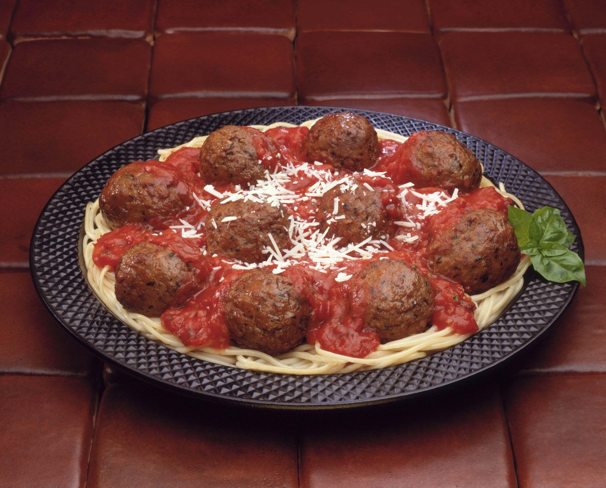 How long do you cook large meatballs in a convection oven