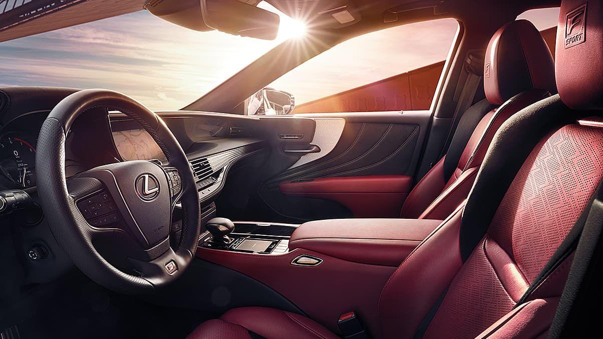 2020 Lexus Ls F Sport Interior In 2020 Lexus Ls Lexus Luxury Sedan
