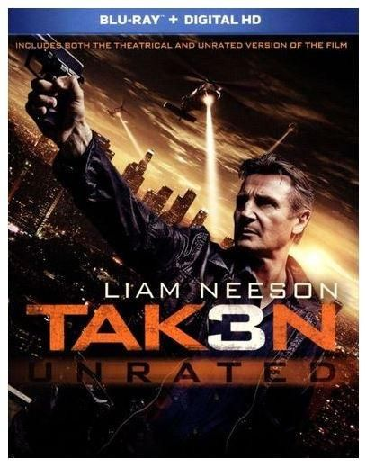 Taken 3 Unrated (Blu-Ray)