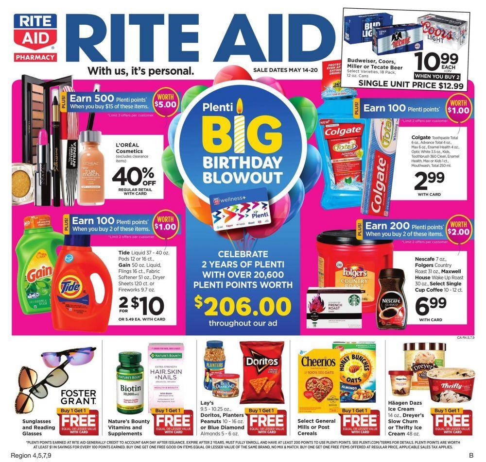 Rite Aid Weekly Ad Circular May 14