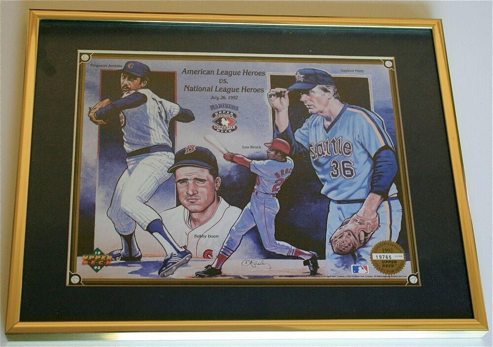 MLB AMERICAN LEAGUE HEROES vs NATIONAL LEAGUE HEROES 1992