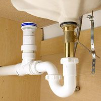 Installing An Air Admittance Valve How To Install Kitchen Plumbing