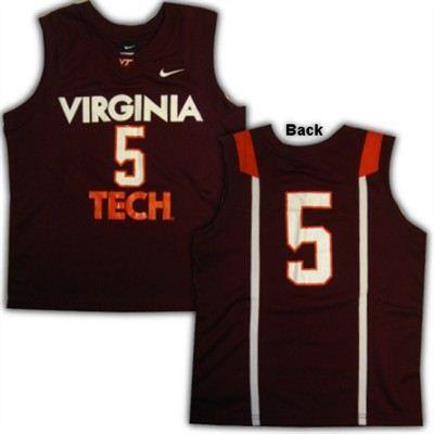 Virginia Tech Hokies Nike Youth Replica Basketball Jersey Virginia Tech Apparel Basketball Jersey Virginia Tech Hokies