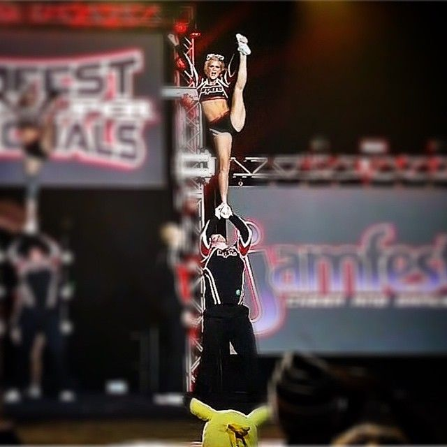 in honor of Battle at the Capitol this weekend & my first year doing coed stunts