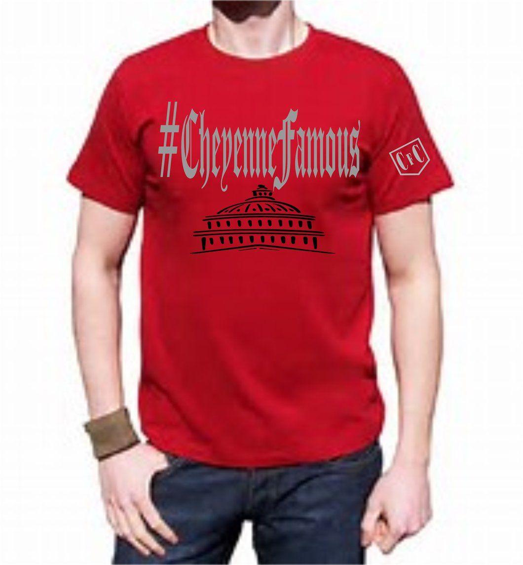 Cheyenne famous clothing hashtag capitol building logo t