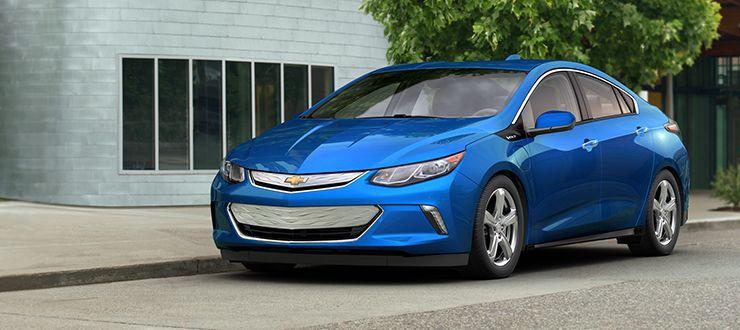 Chevrolet Volt 2016 En Bleu cinétique métallisé livrable moyennant