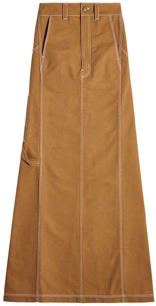 low priced huge discount pretty cool Vetements X Carhartt Cotton Skirt | Cotton skirt, Skirts ...
