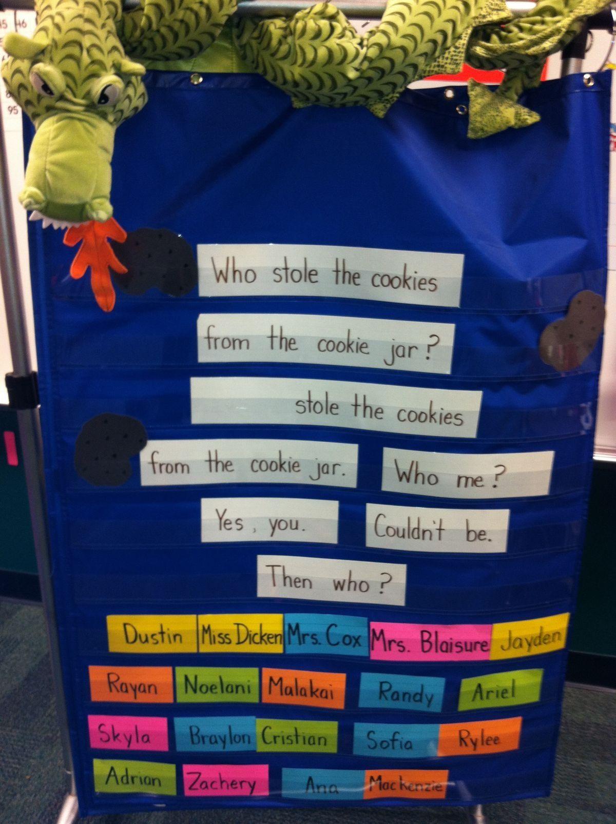 Cookie Jar Poem My Kids Loved This