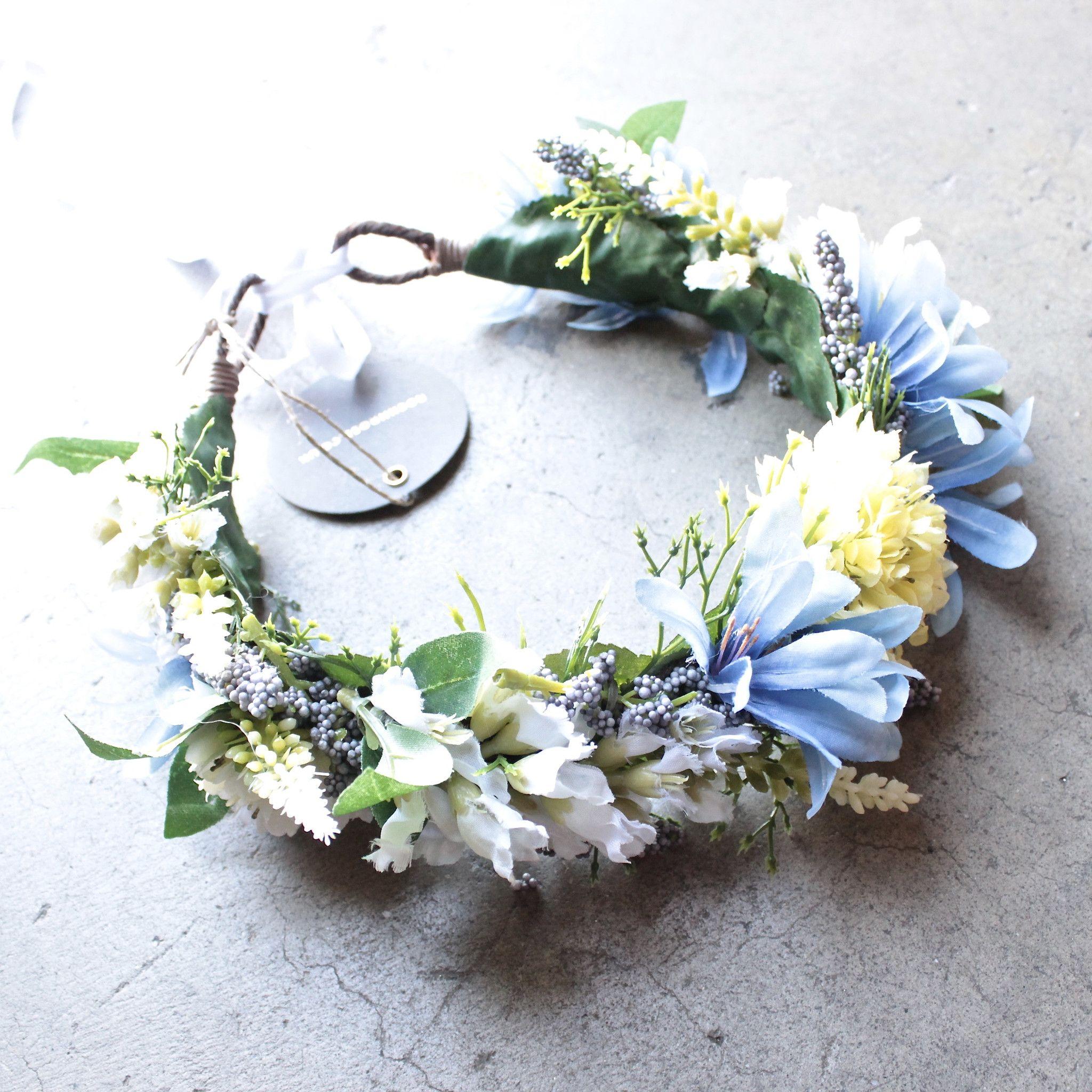 Rock N Rose Cambridge Handmade Floral Meadow Crown Headband