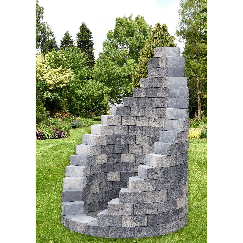 Ehl Gartendusche Bausatz Grau Anthrazit O 123 Cm Kaufen Bei Obi In 2020 Gartendusche Steinmauer Garten Garten