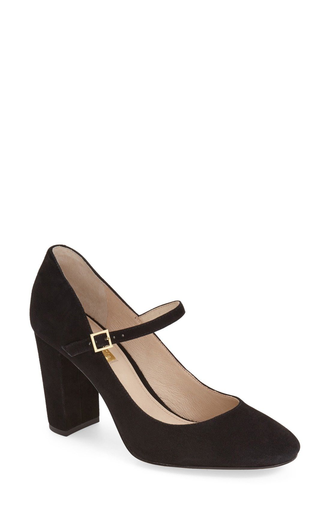 f5c5c4a9c9b Louise et Cie  Jayde  Mary Jane Block Heel Pump (Women) (Nordstrom  Exclusive) available at  Nordstrom