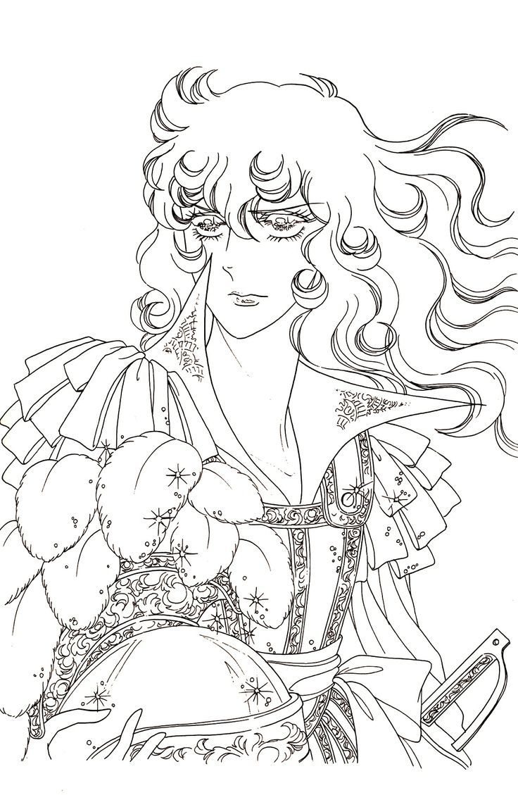 lady oscar | amazing coloring pictures | Pinterest