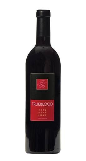 The inky black and blue color of the 2004 Trueblood Napa Valley Syrah is an indication of its power. This wine will bruise your soul with its palate crushing cherry, plum smoke and spice. Rich toasty oak and silky smooth tannins soften the blow enough for you take another sip. 220 cases produced. Only 12 bottles left.