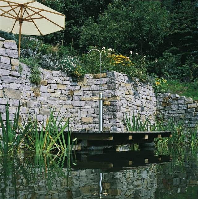douche extérieur pour jardin  | 65 idées inspirantes pour le design de la douche de jardin