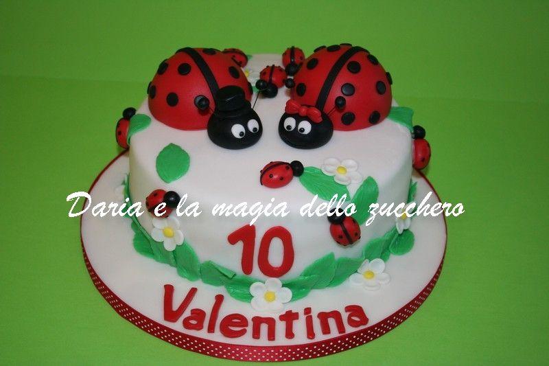 Torte Bambini ~ Torta coccinelle ladybird cake children cakes torte bambini