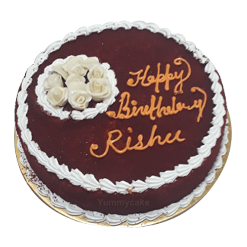 Red Velvet Birthday Cake Free Online Delivery In Delhi And Faridabad RedVelvetBirthdayCake Redvelvet