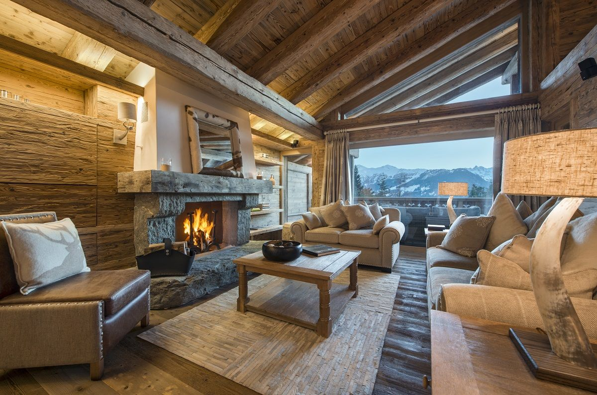 Modern Zwitsers Chalet : Chalet sherwood verbier switzerland a refined home