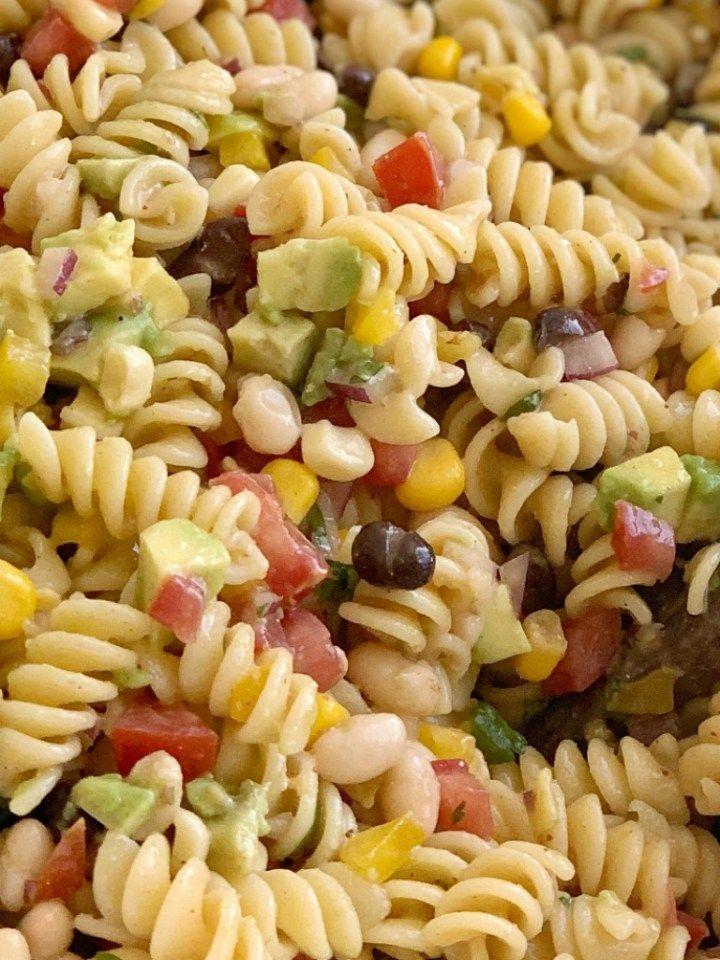 Cowboy Caviar Pasta Salad | Together as Family