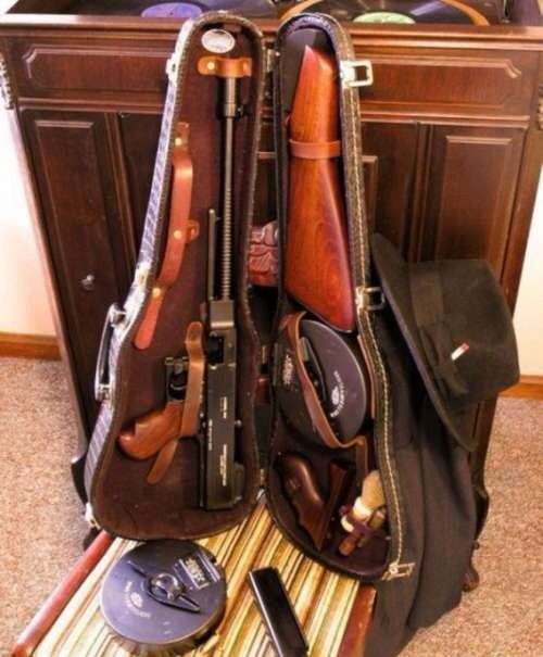 Tommy Gun. -A lawyer friend turned in some of these to the A T F from the estate of a deceased client years ago. The client had an extensive gun collection.