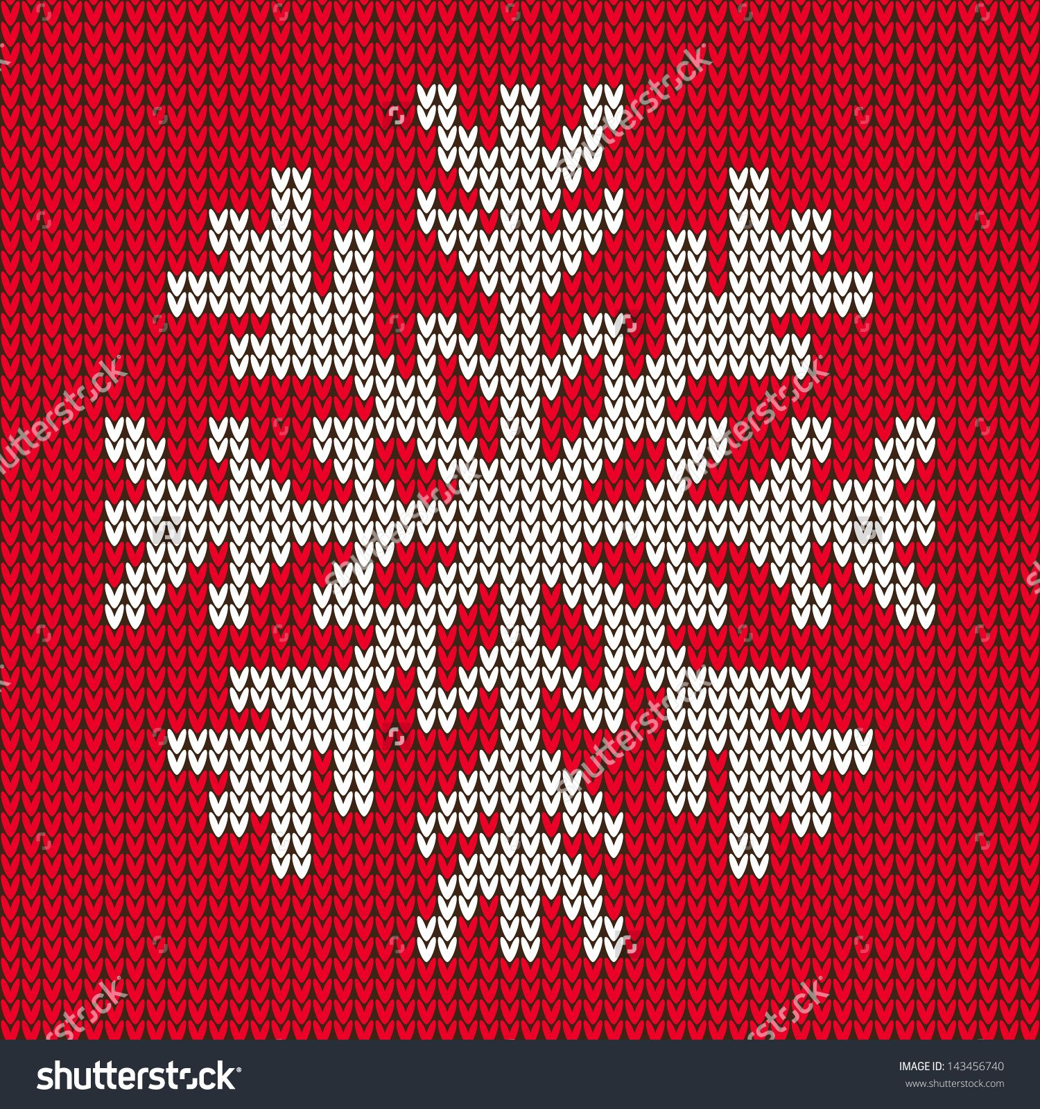 Magnificent Knit Snowflake Ornament Pattern Image Collection ...