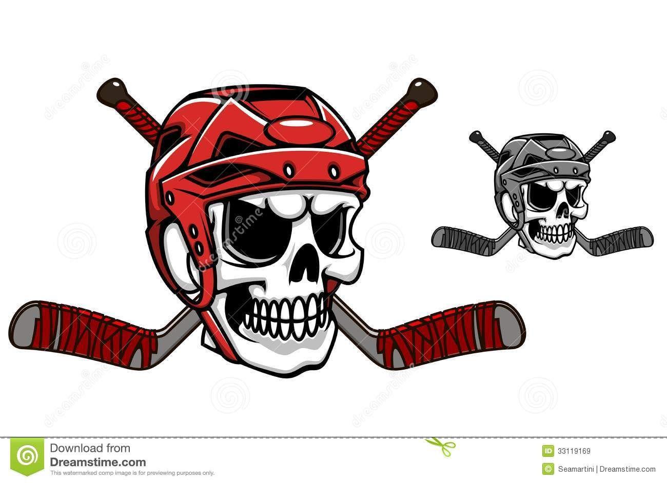 Skull And Cross Bones Hockey Stick Google Search Hockey Helmet Ice Hockey Hockey Tattoo