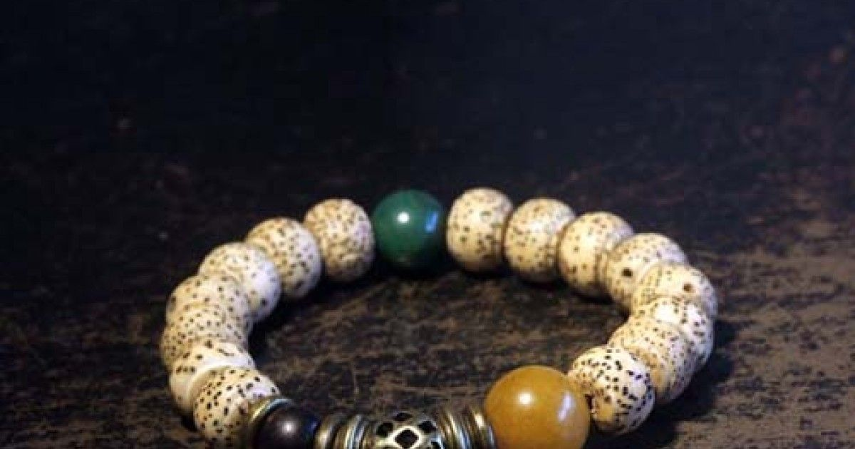 Natural Bodhi son root Originality Wooden beads Hands on Retro Bracelet