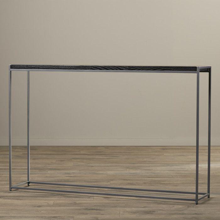 Wade Logan Staunton Tall Console Table | AllModern